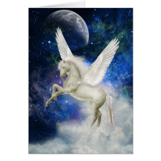 Pegasus Universe Greeting Card