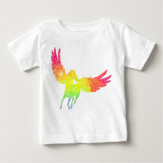 Pegasus with transition colors baby T-Shirt