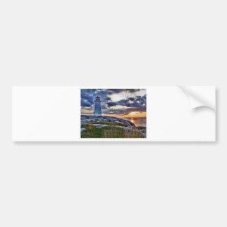 Peggies Cove Nova Scotia Canada Bumper Sticker