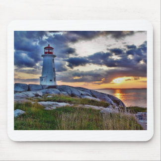 Peggies Cove Nova Scotia Canada Mousepad