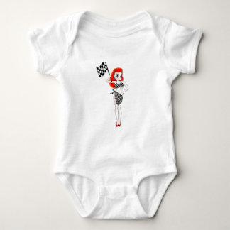 Peggy Pitstop Baby Bodysuit