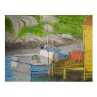 Peggy s Cove - Fishing boat Postcards