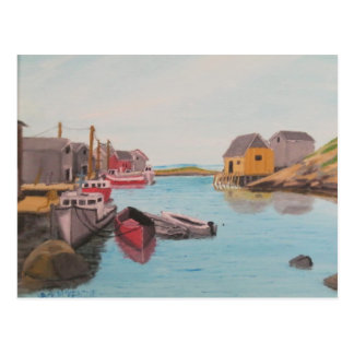 Peggy s Cove Harbor Post Cards