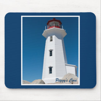 Peggy s Cove Lighthouse Mouse Pads