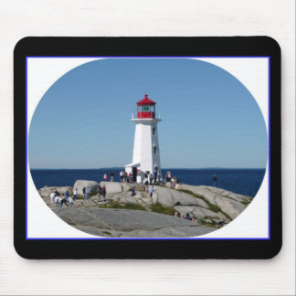Peggy s cove lighthouse mouse pad