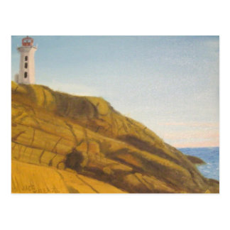 Peggy s Cove Lighthouse - Snset Postcards