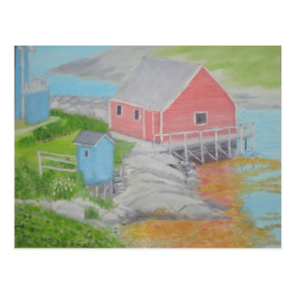 Peggy s Cove Outhouse Post Card