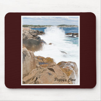 Peggy s Cove Wave Mouse Pads