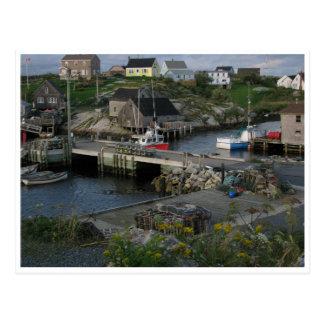 Peggys Cove Halifax Nova Scotia Canada Postcard
