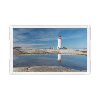 Peggy'S Cove Lighthouse   Canada Acrylic Tray
