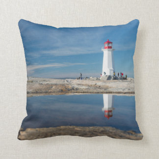 Peggy'S Cove Lighthouse | Canada Cushion