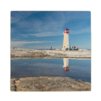 Peggy'S Cove Lighthouse | Canada Wood Coaster