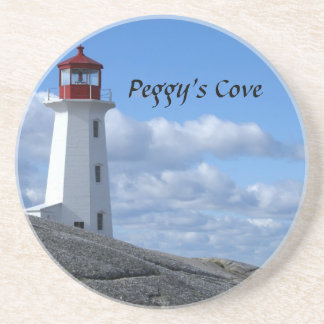 Peggy's Cove Lighthouse Coaster