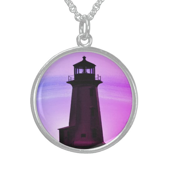 Peggy's Cove Lighthouse Customisable Necklace