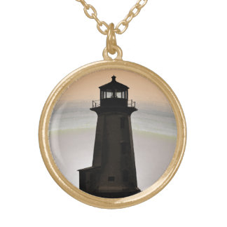 Peggy's Cove Lighthouse Customizable Necklace