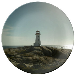Peggy's Cove Lighthouse Decorative Plate