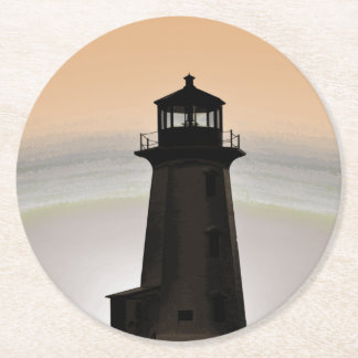 Peggy's Cove  Lighthouse drink Coasters pulp board