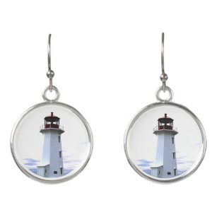 Nova Scotia Lighthouse Charm Charms for Bracelets and Necklaces