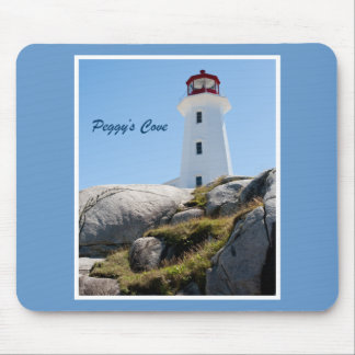 Peggy's Cove Lighthouse Mouse Mat