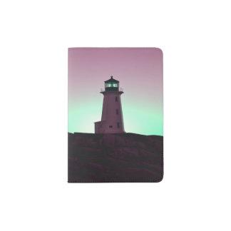 Peggy's Cove  Lighthouse Passport holder