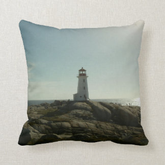 Peggy's Cove Lighthouse Pillow Cushions