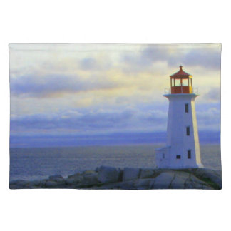 Peggy's Cove  Lighthouse Route Decor Placemats