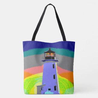 Peggy's Cove  Lighthouse Route Nova Scotia bag