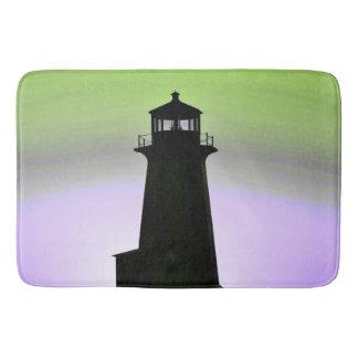 Peggy's Cove  Lighthouse Route Nova Scotia mat Bath Mats