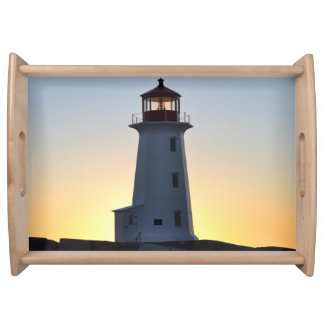 Peggy's Cove  Lighthouse Serving tray