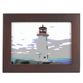 Peggy's Cove N.S. coordinates memory picture box