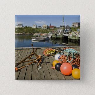 Peggy's Cove, Nova Scotia, Canada 2 15 Cm Square Badge