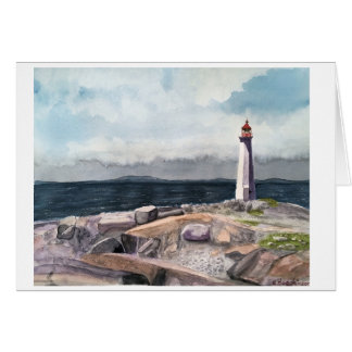 Peggy's Cove, Nova Scotia Canada Card