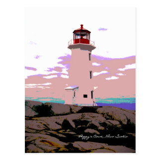 Peggy's Cove Nova Scotia Canada Post Card