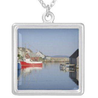 Peggy's Cove, Nova Scotia, Canada Silver Plated Necklace