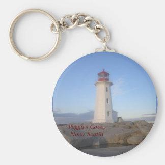 Peggy's Cove, Nova Scotia Key Ring