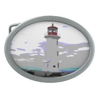 Peggy's Cove  Nova Scotia Lighthouse belt buckle