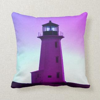 Peggy's Cove Nova Scotia Lighthouse decor pillow