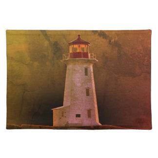 Peggy's Cove Nova Scotia Lighthouse place mat