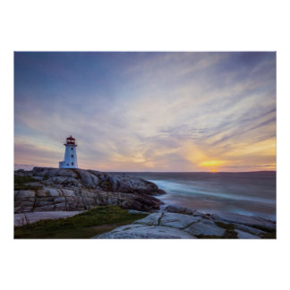 Peggy'S Cove | Nova Scotia Poster