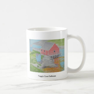 Peggy's Cove Outhouse Mugs