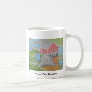 Peggy's Cove Outhouse Mug