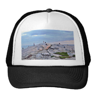 Peggys Cove Rocks Trucker Hat
