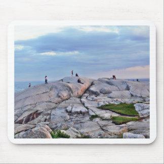 Peggys Cove Rocks Mousepad