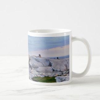 Peggys Cove Rocks Mug