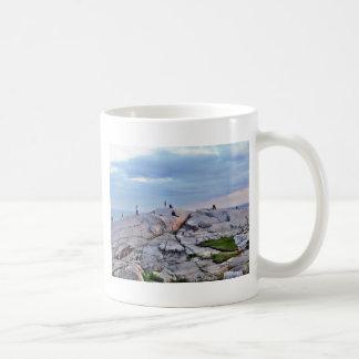 Peggys Cove Rocks Coffee Mug