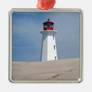 Peggy's Point Lighthouse Christmas Ornament
