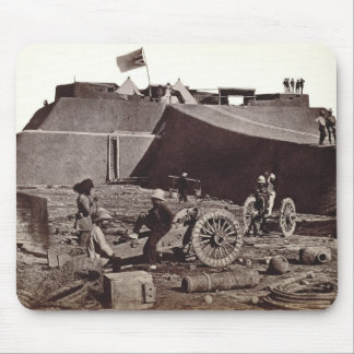 Pehlang Fort, 1860 (albumen silver print) Mouse Pad