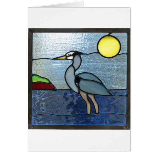 PEI Blue Heron Card