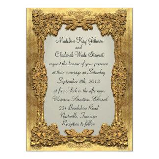 Peiffer Formal 6.5 x 8.75 Monogram Wedding Invite
