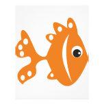 peixe laranj flyers